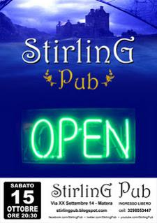 STIRLING PUB RIAPRE  - Matera