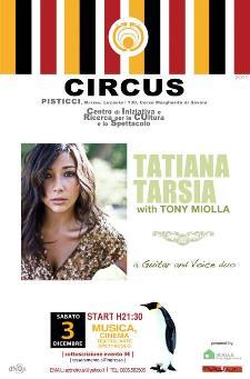 TATIANA TARSIA with Tony Miolla - 3 dicembre 2011 - Matera