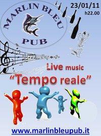 TEMPO REALE live al MARLIN BLEU - Matera