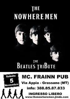 The Beatles Tribute live - 5 novembre 2011 - Matera