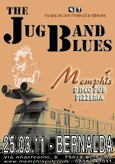 The JubBand Blues - Memphis - Matera