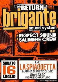 The return of Brigante Sound System - Matera