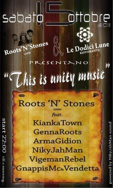 THIS IS UNITY MUSIC - 15 ottobre 2011 - Matera