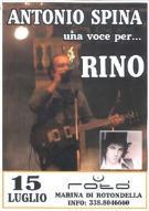 Una voce per Rino - 15 luglio 2011 - Matera