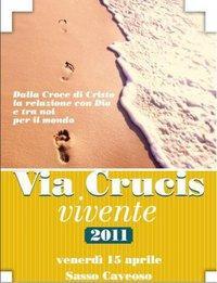 Via Crucis nei Sassi di Matera - 15 aprile 2011 - Matera