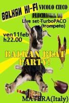 Vicolo Cieco 11 febbraio 2011 - Matera