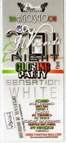 WHITE PARTY - 26 agosto 2011 - Matera