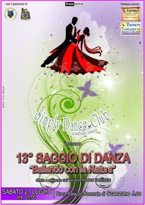 13° SAGGIO DI DANZA - 21 luglio 2012