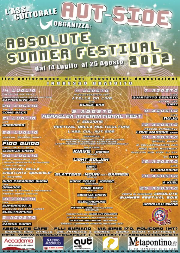 Absolute Summer Festival 2012