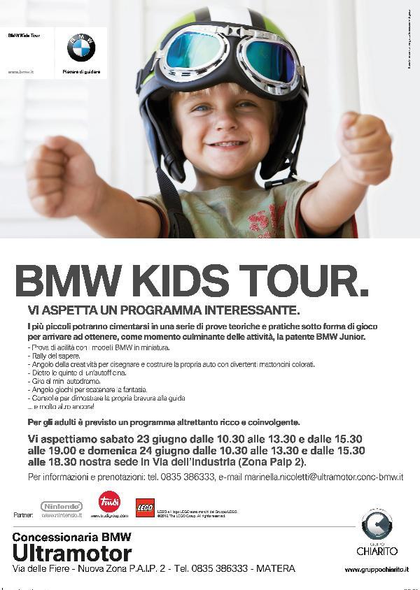 BMW KIDS TOUR - 23 e 24 giugno 2012