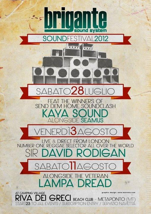 BRIGANTE SOUND FEST 2012