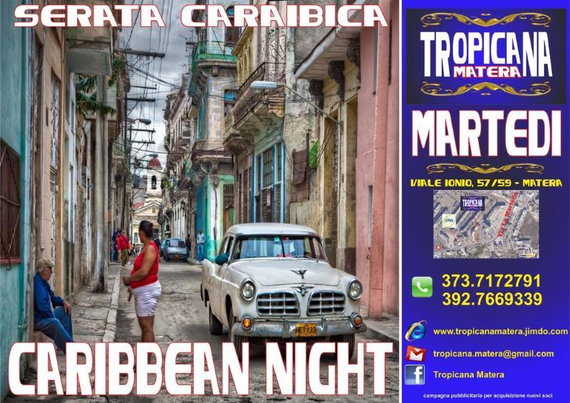 CARIBBEAN NIGHT - 10 gennaio 2012