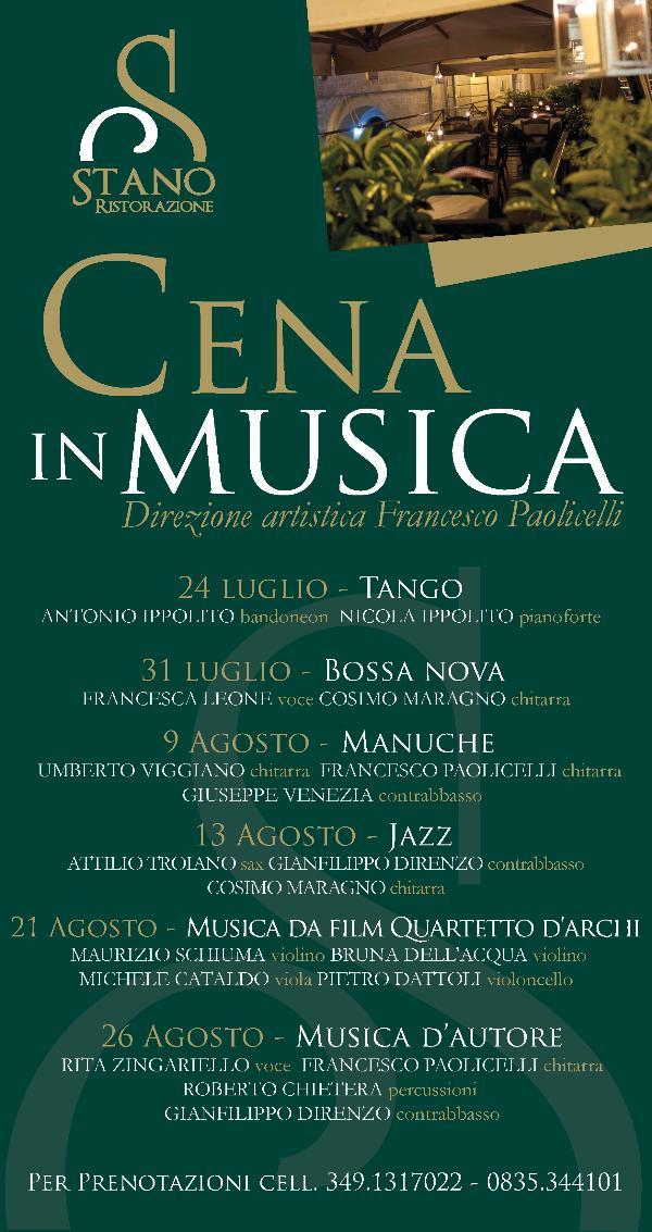 Cena in Musica 2012