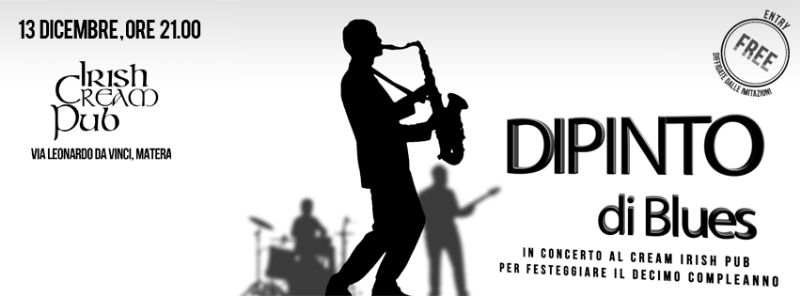 Concerto di Compleanno dei Dipinto di Blues - 13 dicembre 2012