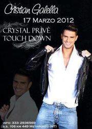 Cristian Galella al Touch Down
