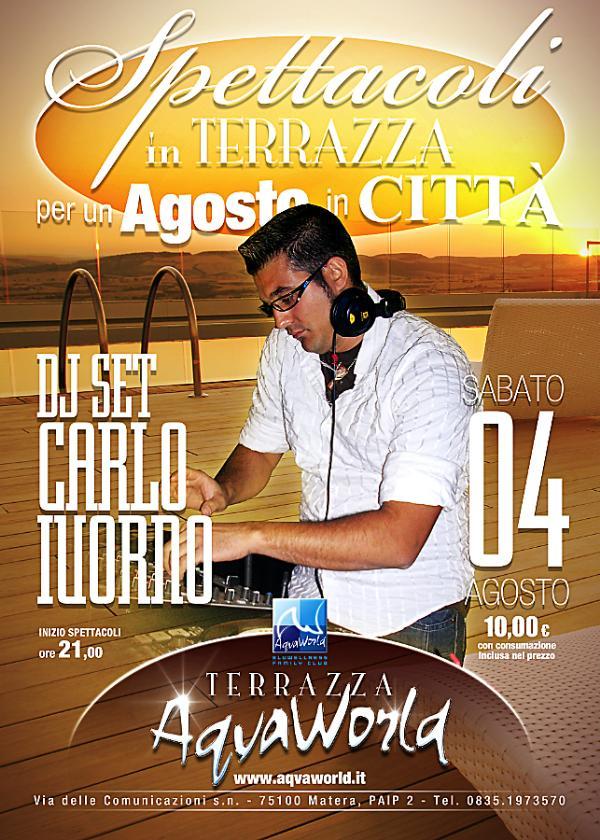 DJ SET Mj Carlo IUORNO - 4 agosto 2012