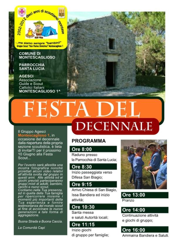 Festa del Decennale - 10 giugno 2012