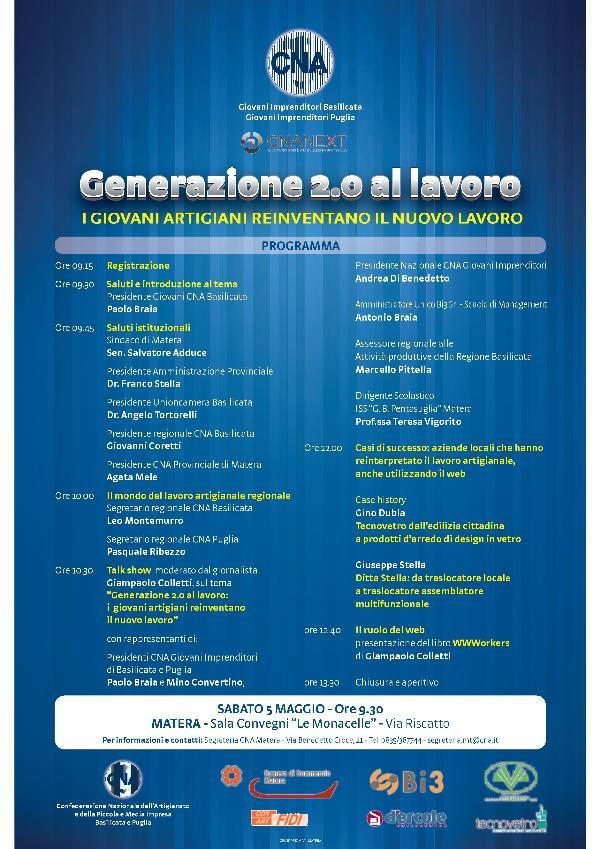 Generazione 2.0 al lavoro- 5 maggio 2012