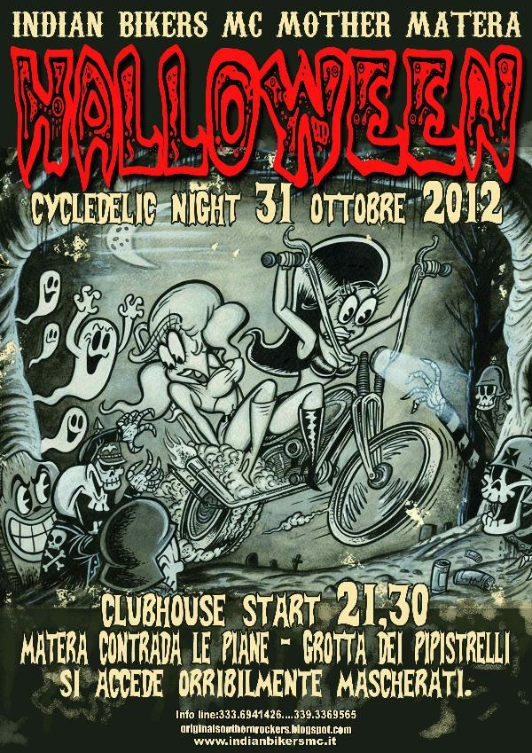 HALLOWEEN CYCLEDELIC NIGHT - 31 ottobre 2012