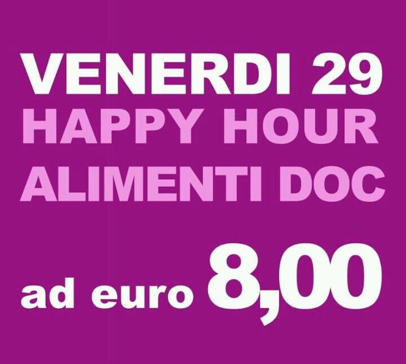 Happy Hour - 29 giugno 2012