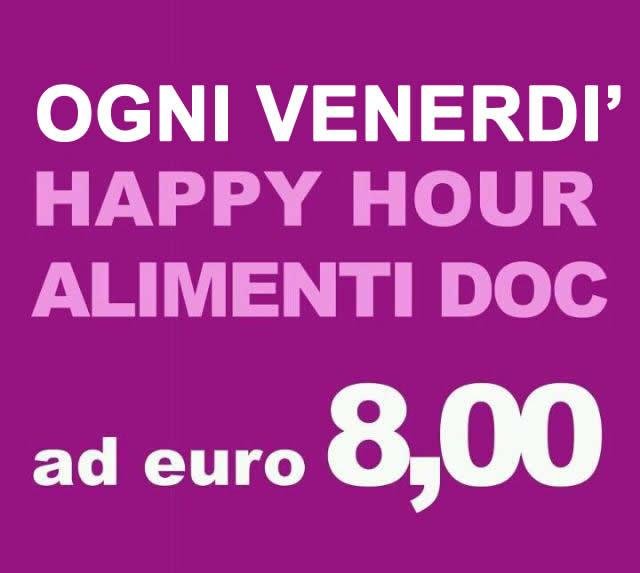 Happy Hour - Alimenti Doc