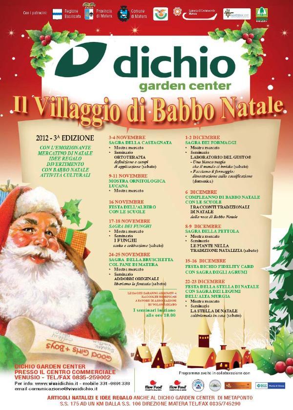 Il Villaggio di Babbo Natale 2012