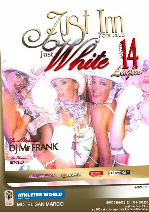 JUST WHITE - 14 luglio 2012