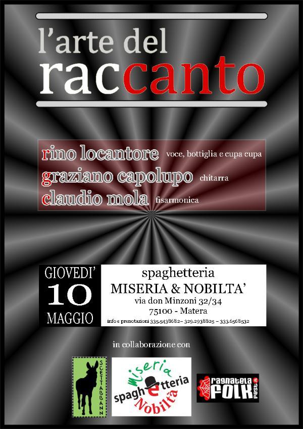 L´Arte del racCanto - 10 maggio 2012