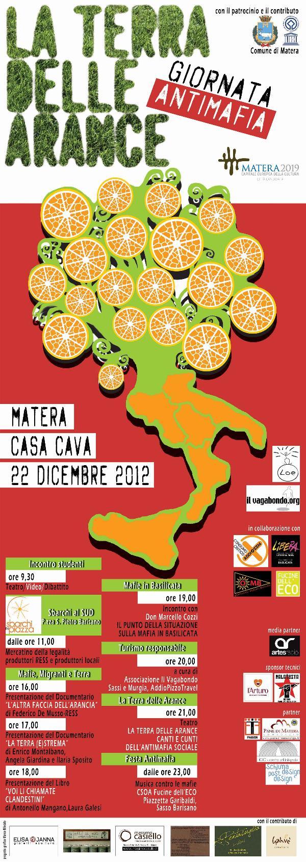 LA TERRA DELLE ARANCE - 22 dicembre 2012