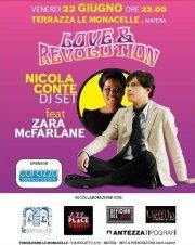 Love&Revolution Vibe - Nicola Conte dj set feat.Zara McFarlane - 22 giugno 2012
