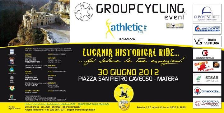 LUCANIA HISTORICAL RIDE 2012 - 30 giugno 2012