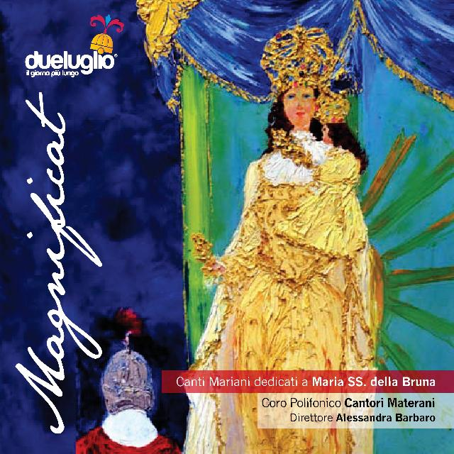 Copertina di Magnificat. Canti Mariani dedicati a Maria SS. della Bruna