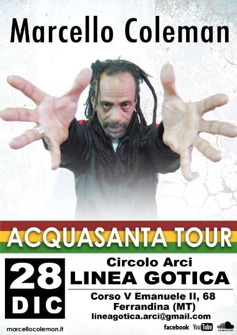 Marcello Coleman from Almamegretta - 28 dicembre 2012