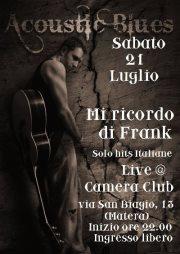 Mi Ricordo Di Frank live - 21 luglio 2012