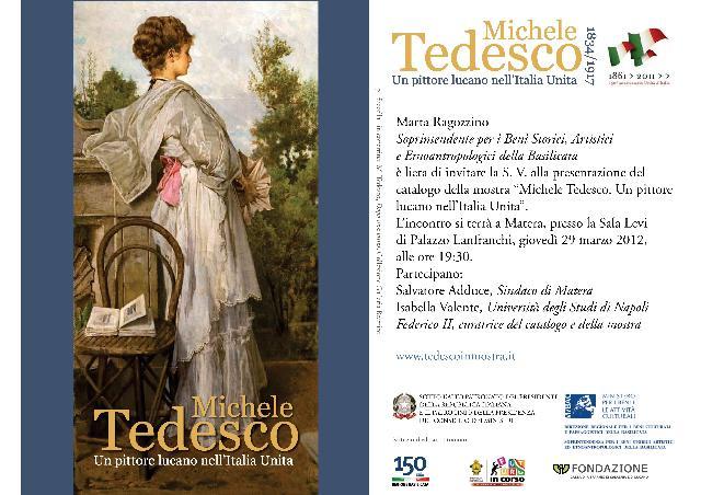 Michele Tedesco. Un pittore lucano nell´Unità d´Italia