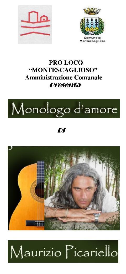 MONOLOGO SULL´AMORE - 21 dicembre 2012