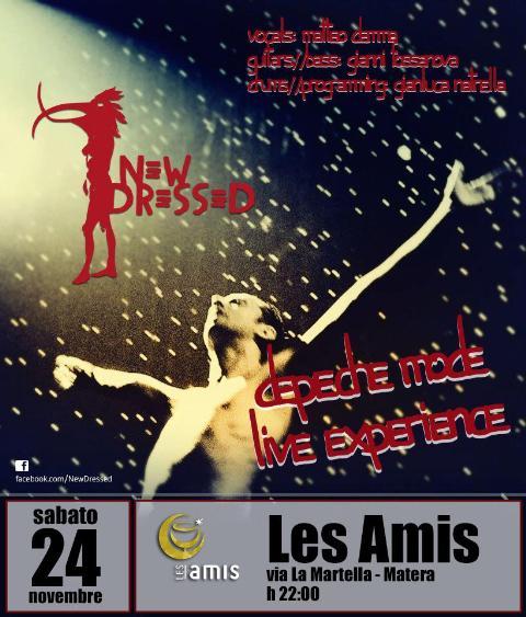 NEW DRESSED cover band Depeche Mode - 24 novembre 2012