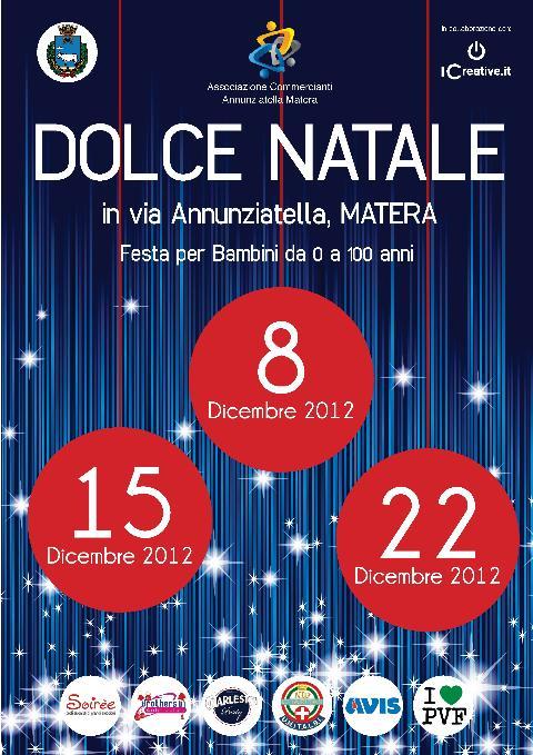 OLCE NATALE in via Annunziatella