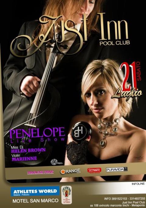 PENELOPE Live Show - 21 luglio 2012