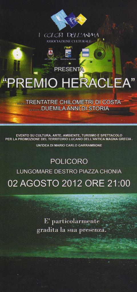 Premio Heraclea 2012 - 2 agosto 2012