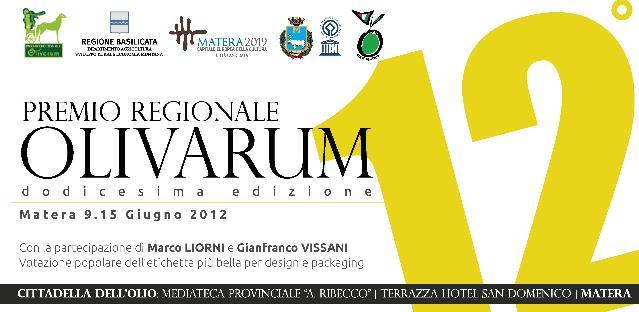 Premio Olivarum 2012