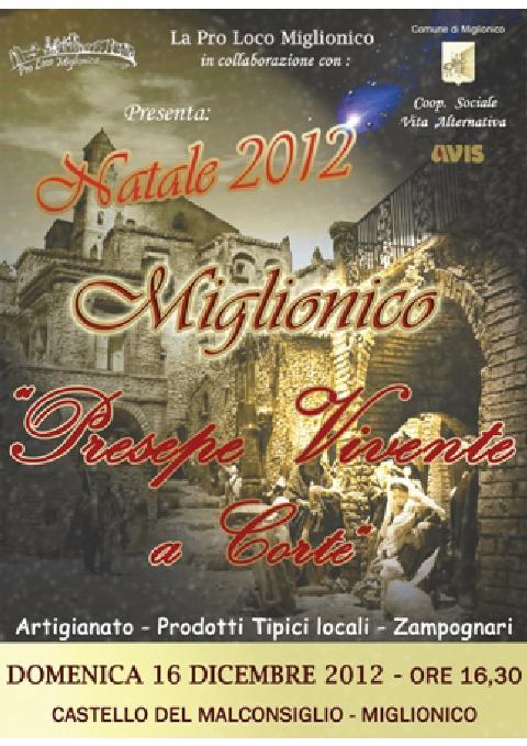 Presepe Vivente a Corte - 8 dicembre 2012