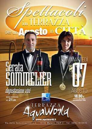 Serata Sommelier - 7 agosto 2012
