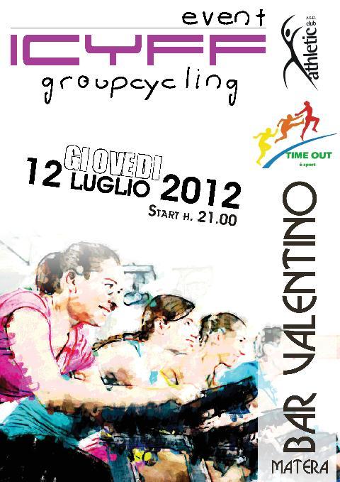 SPETTACOLO DI SPINNING - 12 luglio 2012