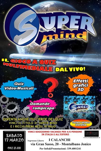 Super Mind a I Calanchi