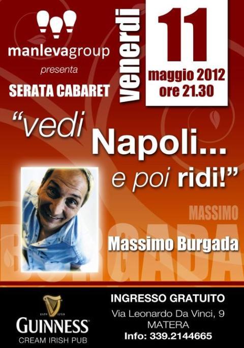 Vedi Napoli....e poi ridi - 11 maggio 2012