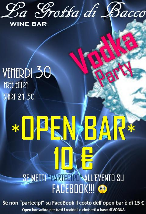 VODKA PARTY - 30 marzo 2012