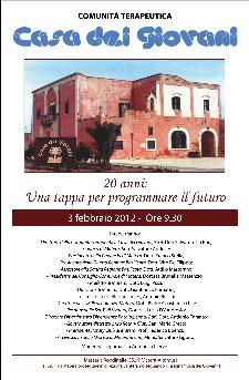 20° anniversario della Casa dei Giovani  - Matera
