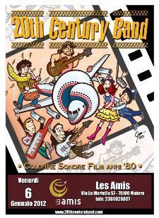 20th Century Band live  - Matera