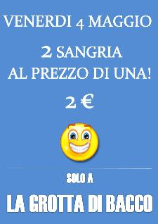 2 sangria al prezzo di una - 4 maggio 2012 - Matera